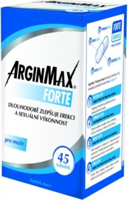 Recenze a výsledky testů na produkt Arginmax Forte