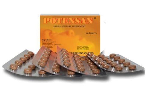 Potensan - Prášky na zlepšení erekce