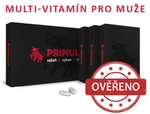 Primulus recenze – Vitamíny nejen na problémy s erekcí
