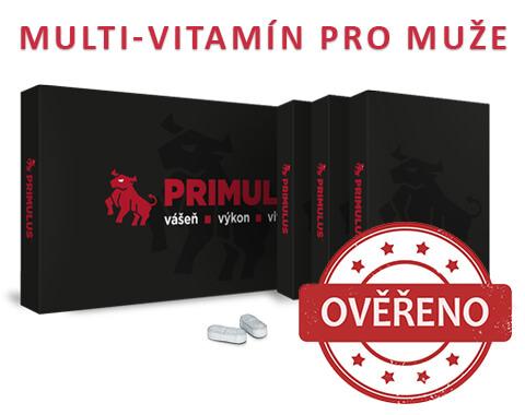 Primulus recenze - Vitamíny nejen na problémy s erekci