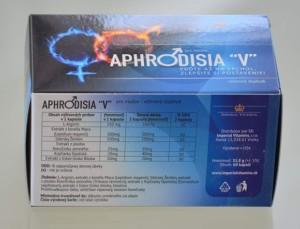 Aphrodisia: na podporu erekce - Složení