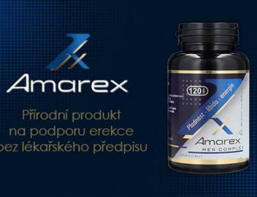 Amarex recenze: český přírodní doplněk stravy na zlepšení erekce