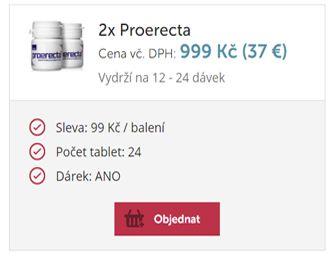 Proerecta 2x balení - Podpora erekce