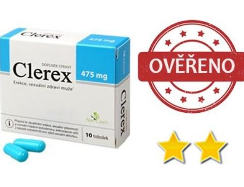 Clerex pro muže: Jak si stojí český výrobek na podporu erekce ve srovnání s konkurencí?
