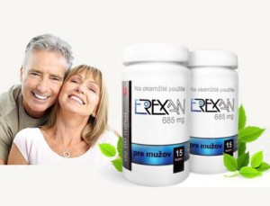 Erexan - Prášky na zlepšení erekce
