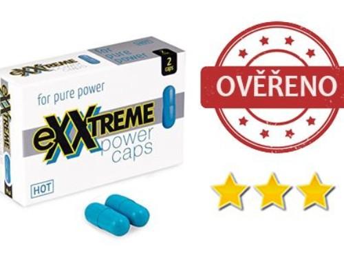 eXXtreme Power Caps: recenze dalšího produktu na podporu erekce, jak si povede?