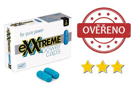 eXXtreme Power Caps: recenze dalšího produktu na podporu erekce