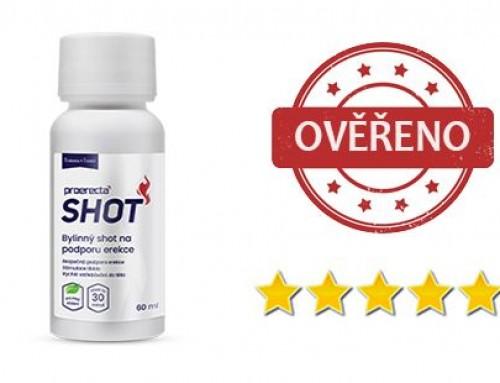 Proerecta Shot recenze: Kvalitní doplněk stravy na podporu erekce v podobně drinku