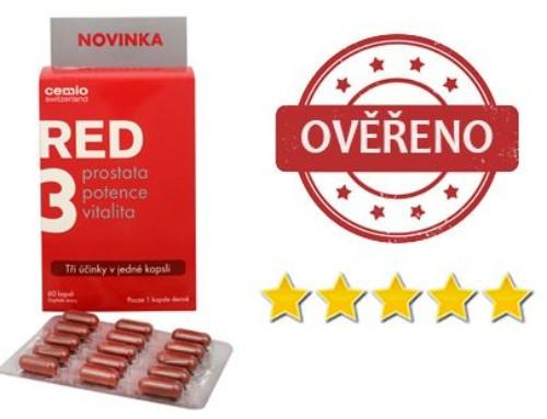 RED3 recenze – Doplněk stravy pro muže úspěšně pomáhá při léčbě prostaty