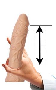 Cviky na penis - Větší objem krve